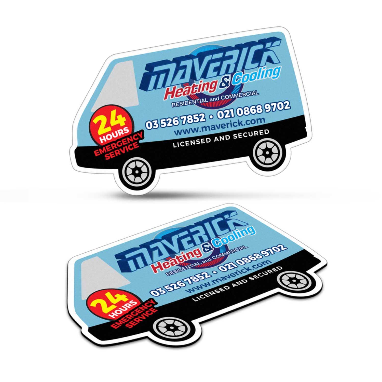 Fridge-Magnet-90-x-55mm-Van-Shape
