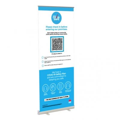 QR Code Banners & Signage
